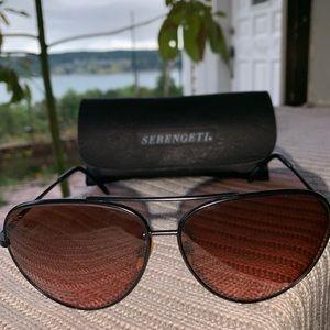 Serengeti 5222 Vintage Avaitor Sunglasses